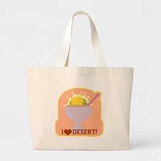 I Love Desert! Jumbo Tote Bag