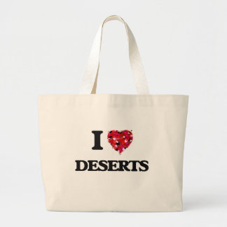I love Deserts Jumbo Tote Bag