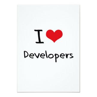 I Love Developers Custom Announcements