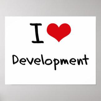 I Love Development Poster