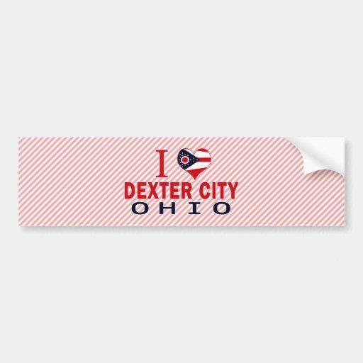 I love Dexter City, Ohio Bumper Sticker