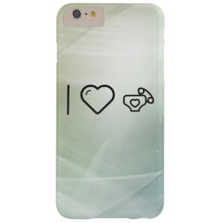 I Love Diaper Babies Barely There iPhone 6 Plus Case