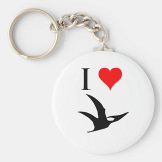 I Love Dinosaurs - Pterodactyl Key Ring