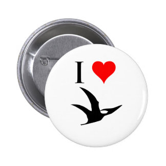 I Love Dinosaurs - Pterodactyl Pin
