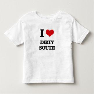 I Love DIRTY SOUTH Tee Shirt