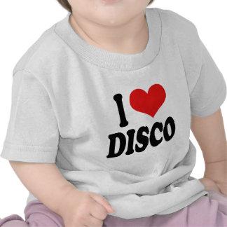 I Love Disco T Shirts
