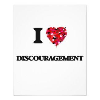 I love Discouragement 11.5 Cm X 14 Cm Flyer