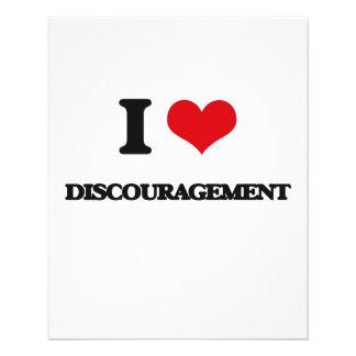 I love Discouragement Flyers
