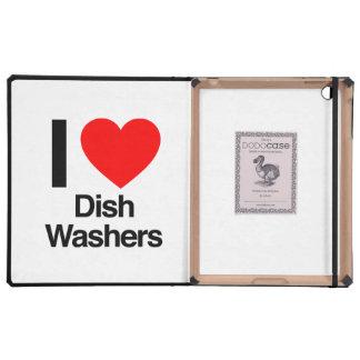 i love dish washers iPad covers