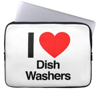 i love dish washers computer sleeve