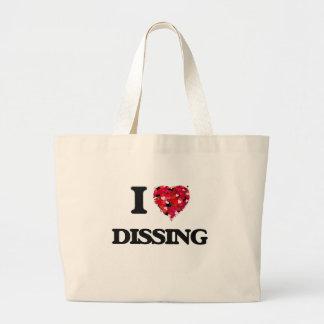 I love Dissing Jumbo Tote Bag