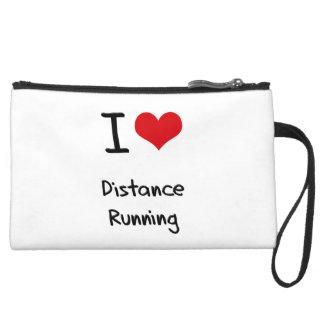 I Love Distance Running Wristlets