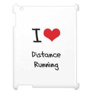 I Love Distance Running iPad Cases