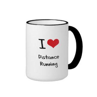 I Love Distance Running Mug