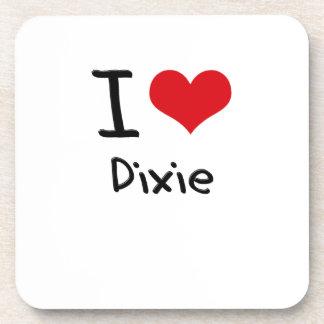 I Love Dixie Drink Coasters