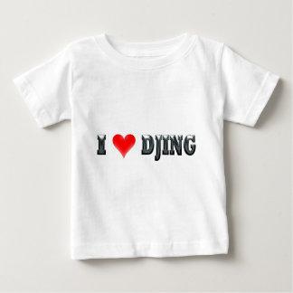 I Love DJing Baby T-Shirt