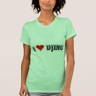 I Love DJing T Shirts