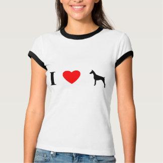 I Love Doberman Pinschers T-Shirt