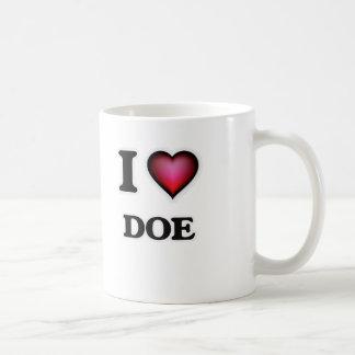 I love Doe Coffee Mug