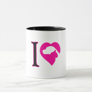 I LOVE DOG & CATS MUG