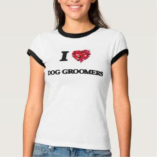 I love Dog Groomers Tee Shirt