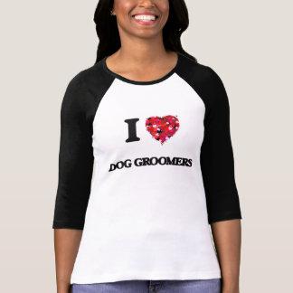 I love Dog Groomers Tee Shirts