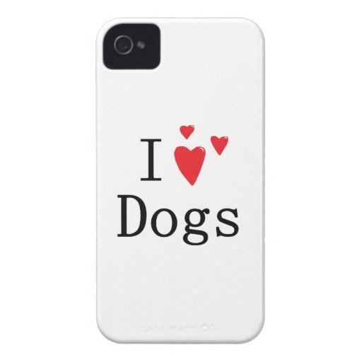 I Love Dogs Blackberry Bold Blackberry Bold Case