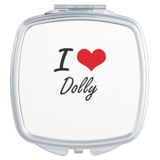 I love Dolly Travel Mirror