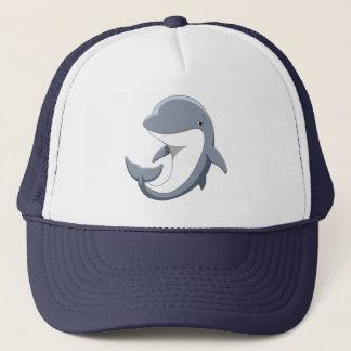I Love Dolphins Cute Bottlenose Trucker Hat