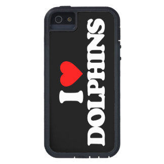 I LOVE DOLPHINS TOUGH XTREME iPhone 5 CASE