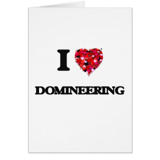I love Domineering Greeting Card