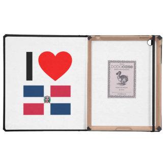 i love dominican republic cases for iPad