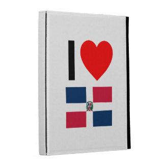 i love dominican republic iPad folio cover