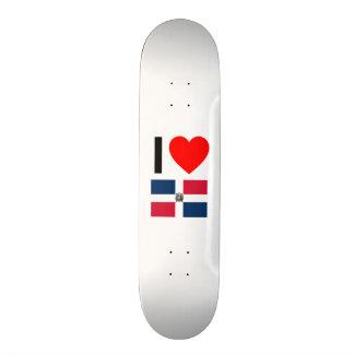 i love dominican republic skateboards