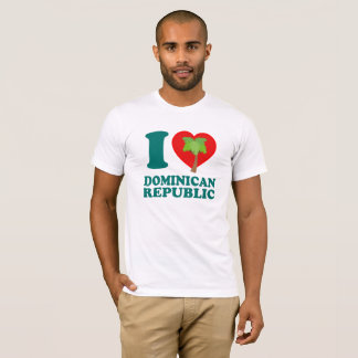 I Love Dominican Republic T-Shirt
