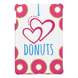 I love donuts poster. iPad mini cover