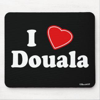 I Love Douala Mouse Pad