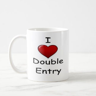 I Love Double Entry (2) Coffee Mug