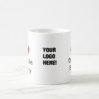 I Love Double Entry - Add your Logo! Coffee Mug