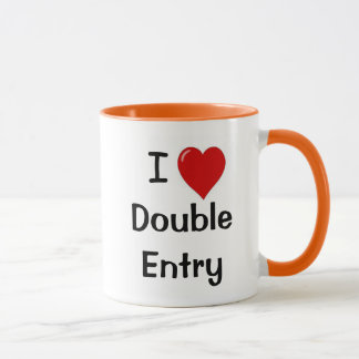 I Love Double Entry - Suggestive Accounting Mug