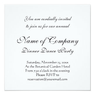 I Love Doxies - Black and Tan Dachshund 5.25x5.25 Square Paper Invitation Card