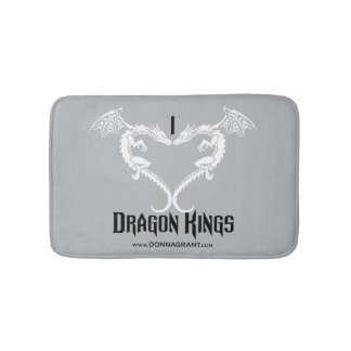 I Love Dragon Kings bath mat