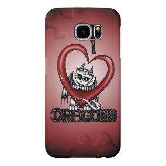 I love Dragons Samsung Galaxy S6 Cases