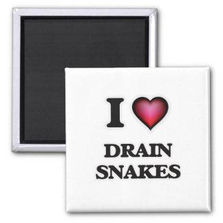 I love Drain Snakes Magnet