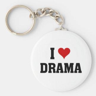 I love Drama Key Ring