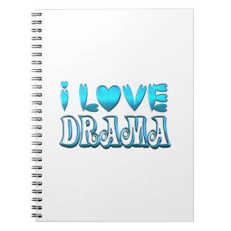 I Love Drama Notebook