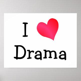 I Love Drama Poster
