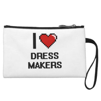 I love Dress Makers Wristlets