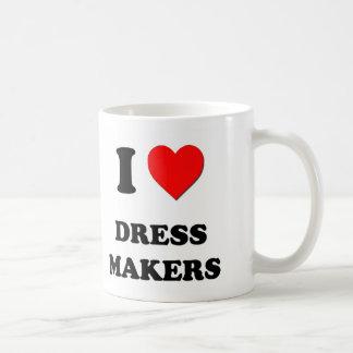 I Love Dress Makers Mug