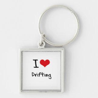 I Love Drifting Keychain